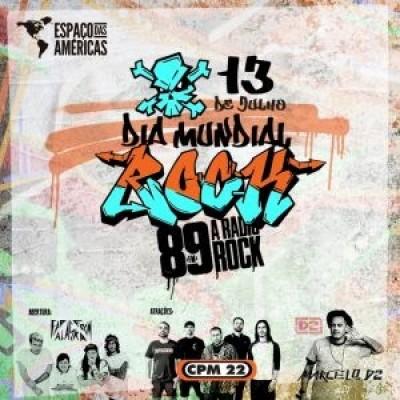 89FM faz grande festa em comemoração ao Dia Mundial do Rock no Espaço das Américas