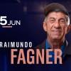 Raimundo Fagner em grande show no Espaço das Américas