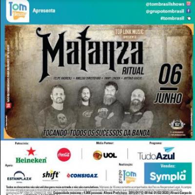 Matanza Ritual confirma show em São Paulo