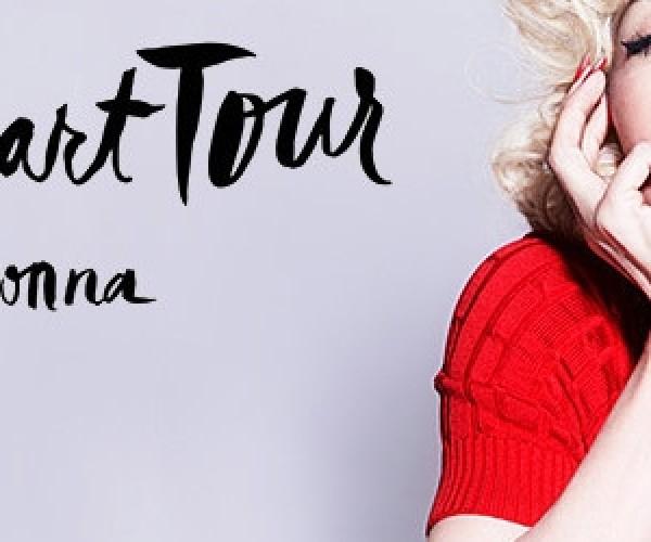 Turnê de Madonna já ultrapassa US$ 100 milhões em faturamento!