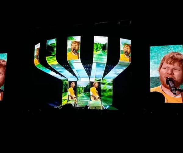 Ed Sheeran se apresenta para mais de 83 mil pessoas em duas apresentações em São Paulo