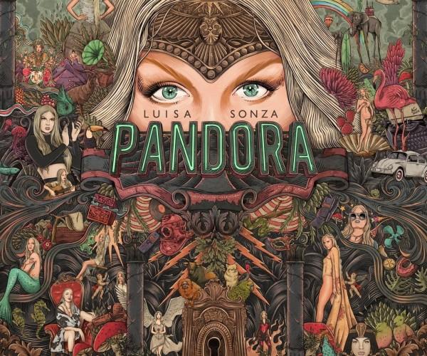 Luísa Sonza lança o seu primeiro álbum, Pandora e divulga videoclipe com Pabblo Vittar